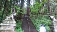 宝光社の階段